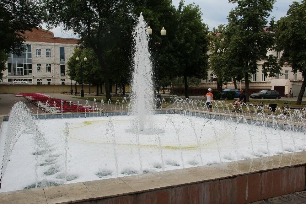 В Тамбове пенится фонтан, фото-5