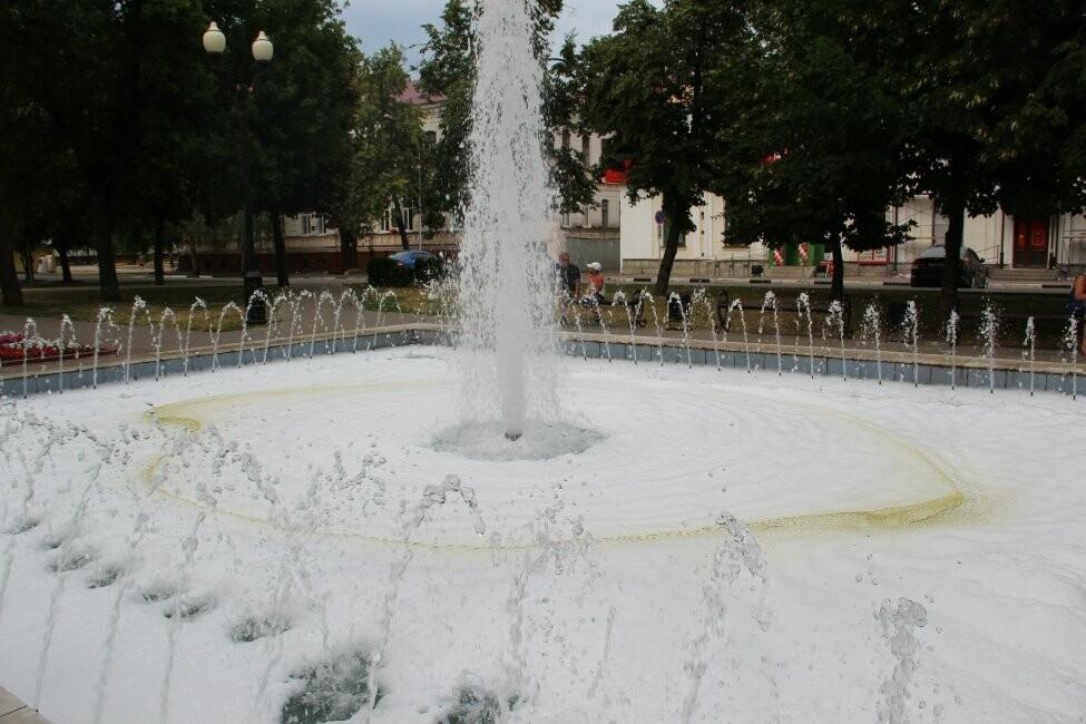 В Тамбове пенится фонтан, фото-4