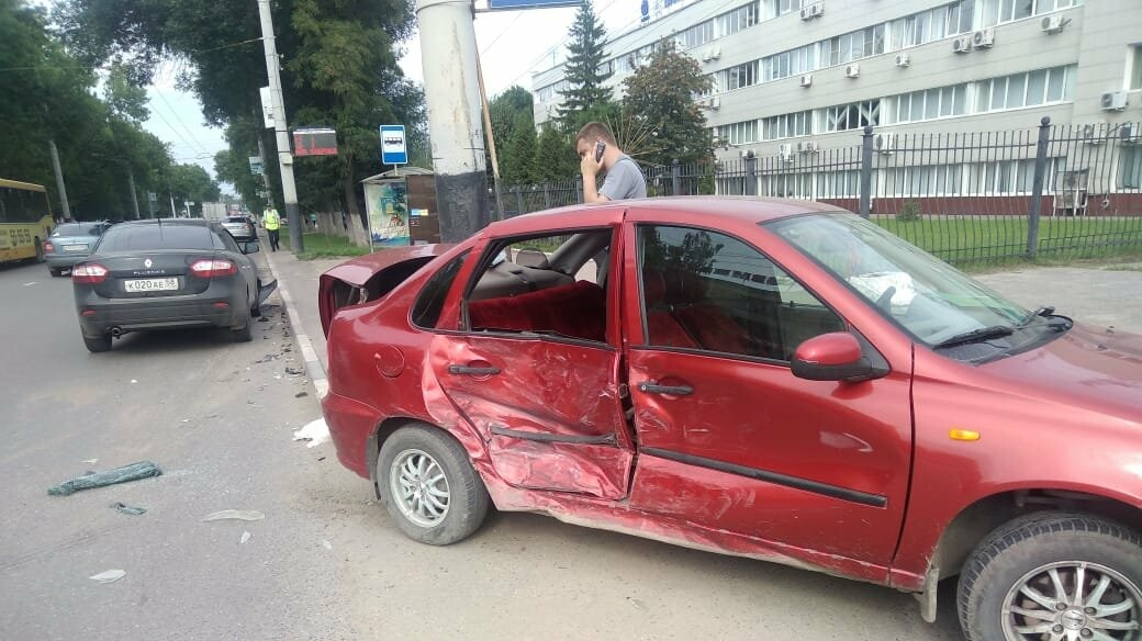 В Тамбове на Моршанском шоссе произошло ДТП, фото-1