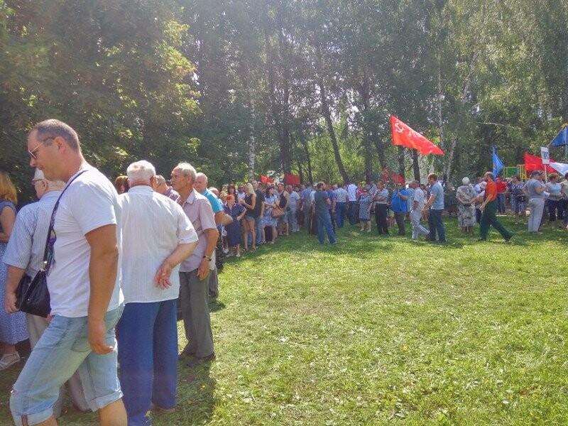 В Тамбове провели митинг против повышения пенсионного возраста, фото-5