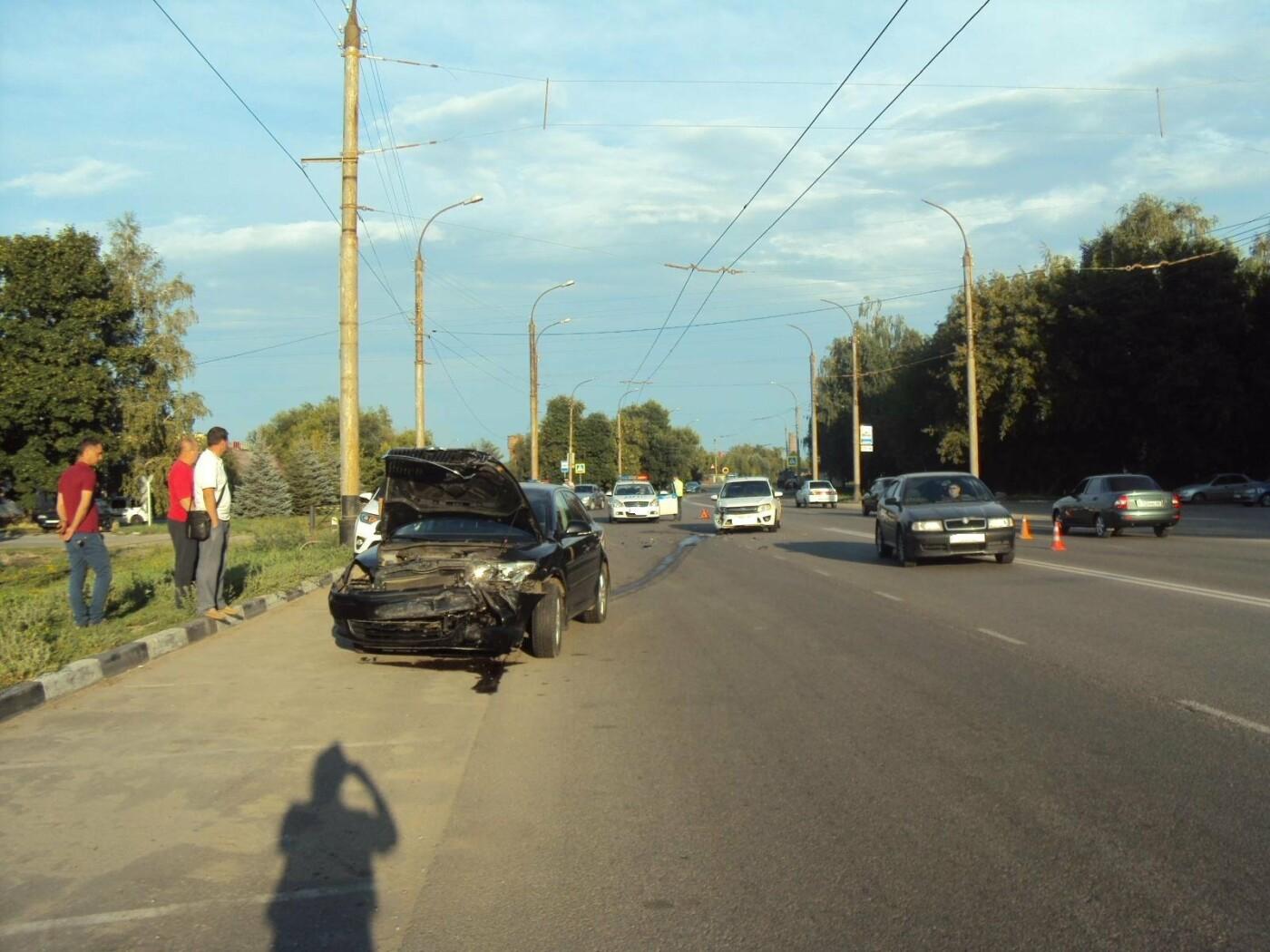 7-летняя тамбовчанка пострадала в аварии на улице Бастионной, фото-1