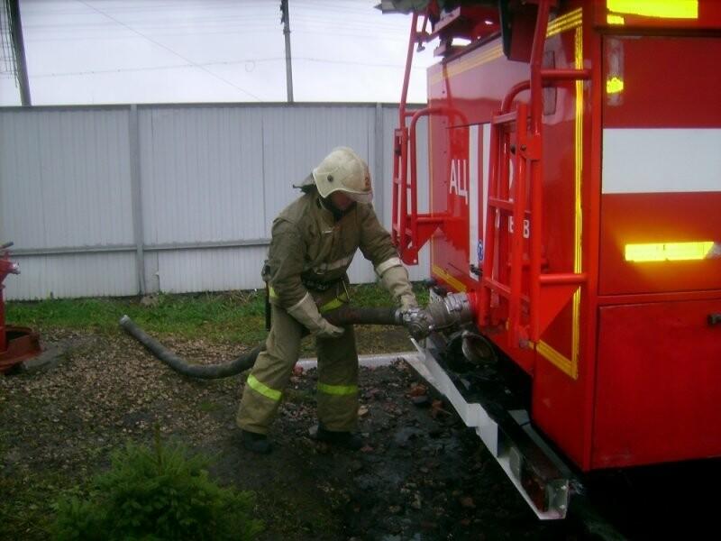 На «Пигменте» в Тамбове случился пожар, фото-1
