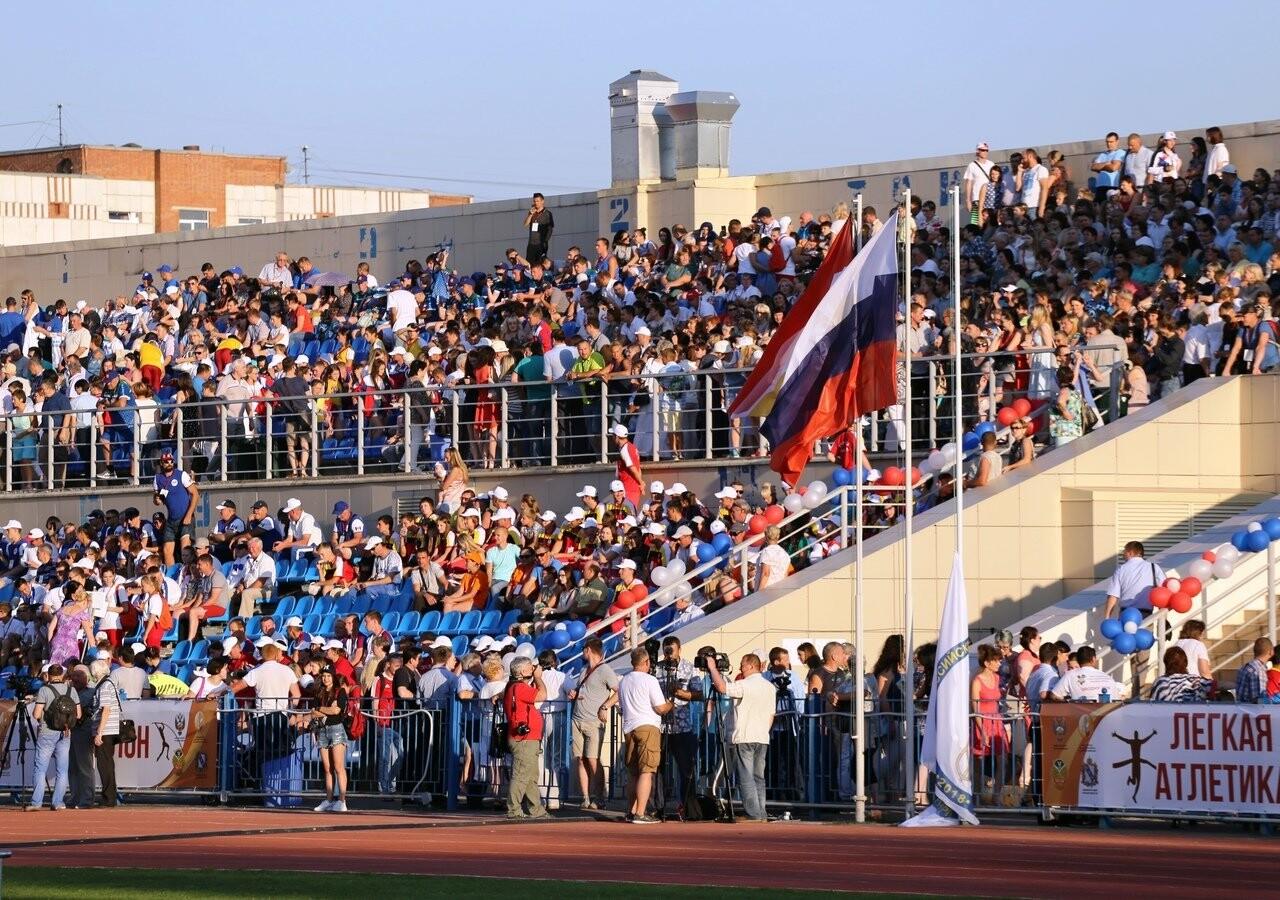 Тамбовские легкоатлеты стали вторыми на сельских летних играх, фото-1