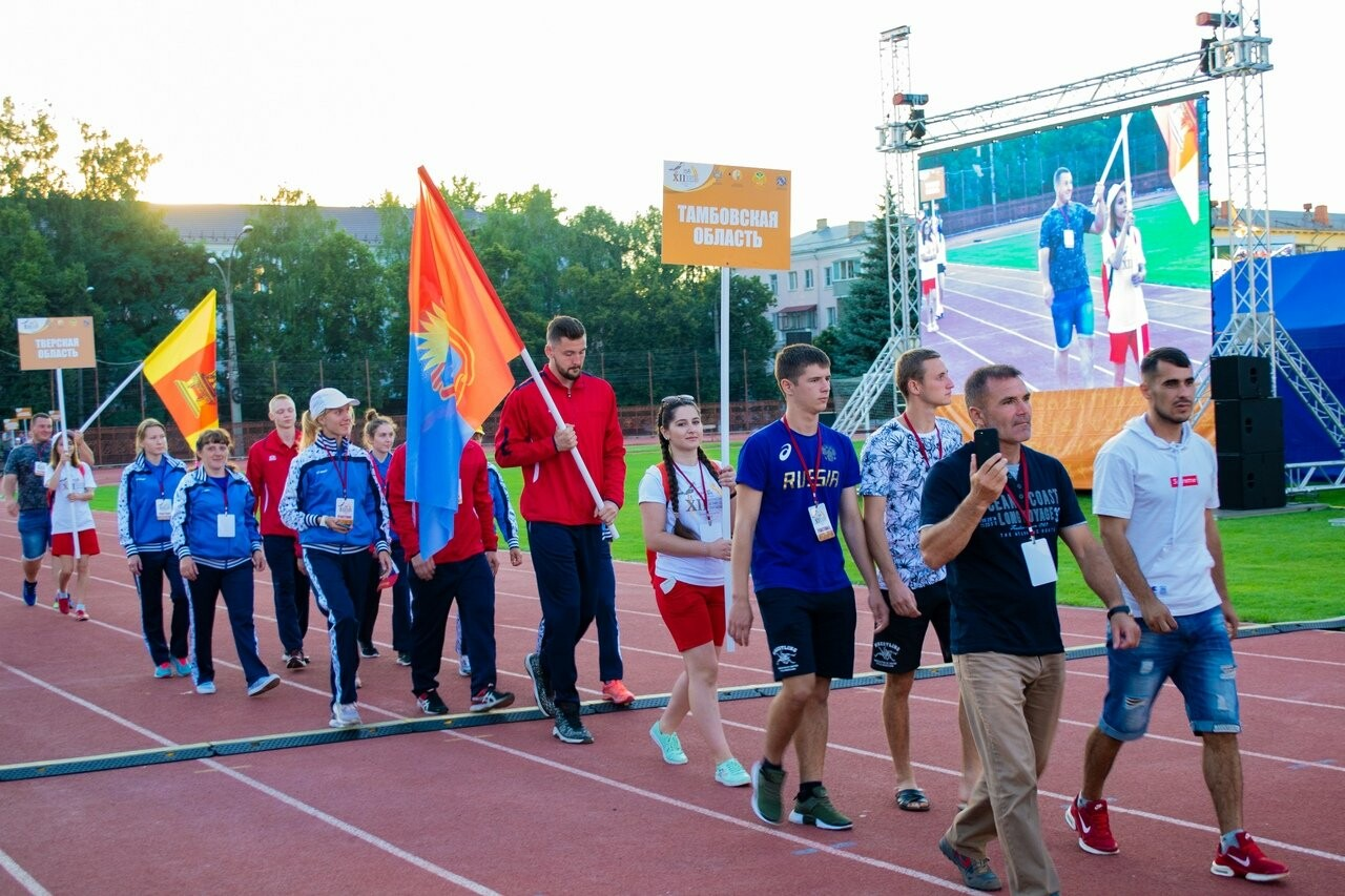 Тамбовские легкоатлеты стали вторыми на сельских летних играх, фото-2