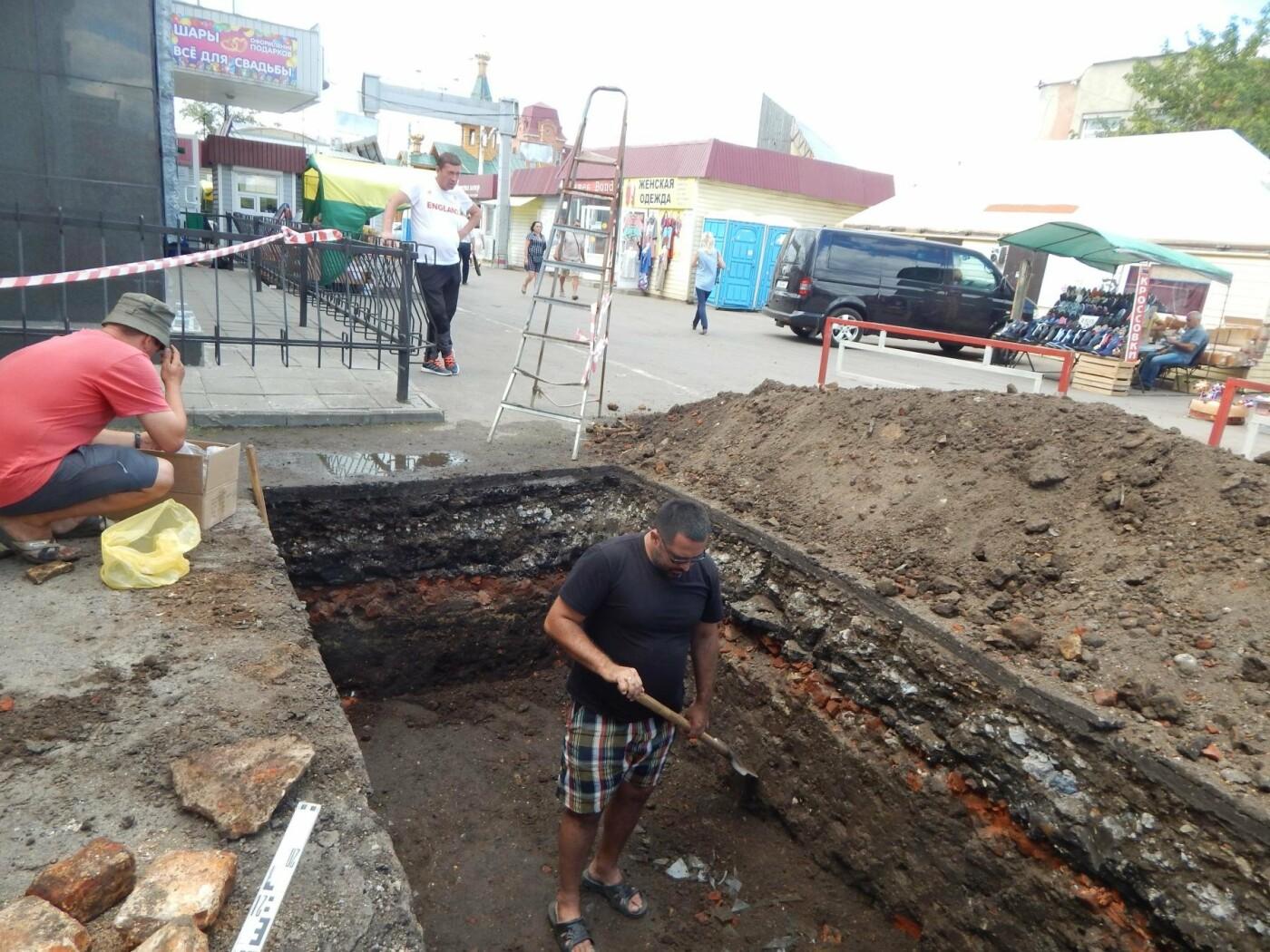В Центре Тамбова начались археологические раскопки, фото-2