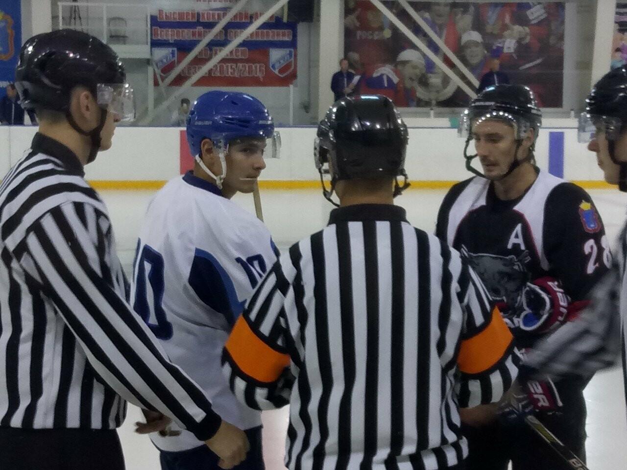 Тамбовские хоккеисты обыграли воронежцев, фото-1