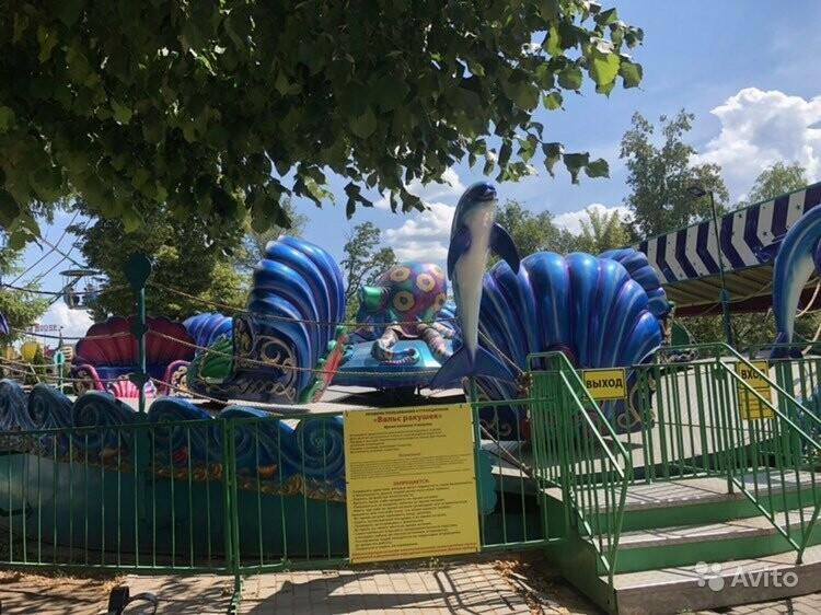В Тамбове распродают аттракционы из парка культуры, фото-1