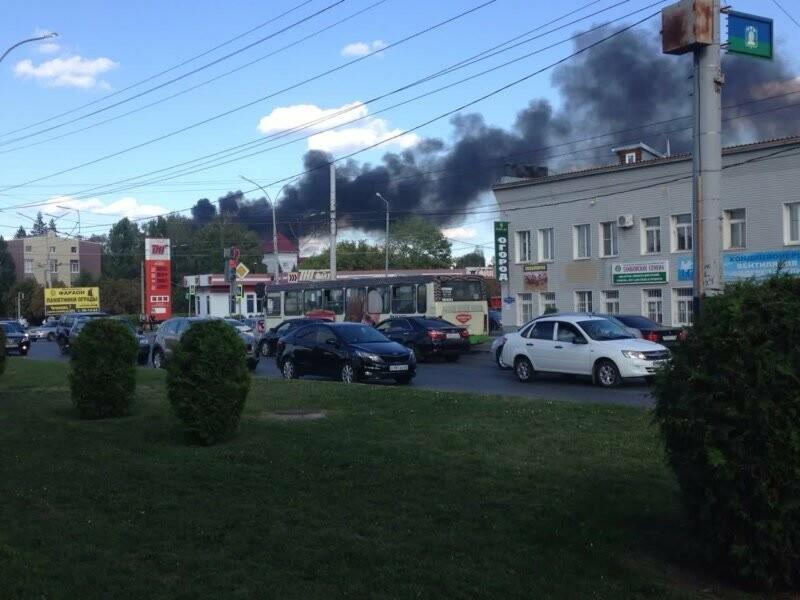 На тамбовской ТЭЦ произошел пожар, фото-2