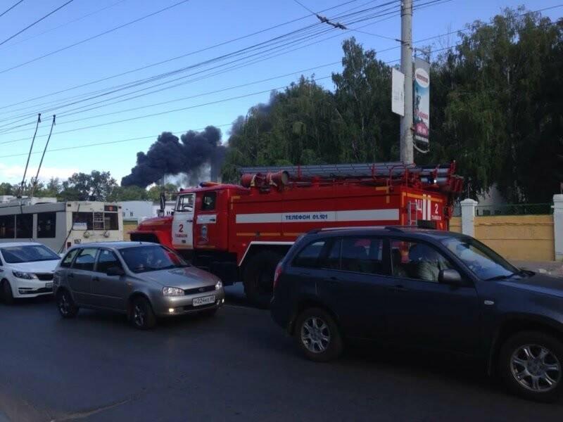 На тамбовской ТЭЦ произошел пожар, фото-1
