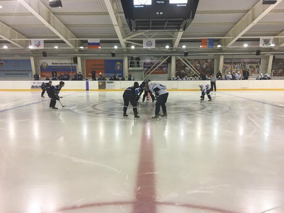 Российские хоккеисты вступили в борьбу за кубок губернатора Тамбовской области, фото-1