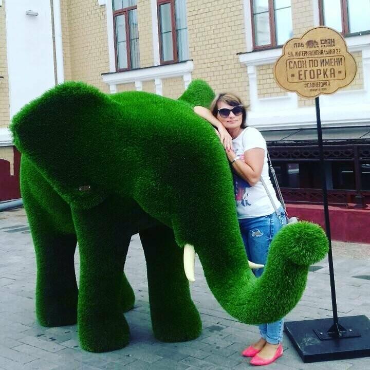 В Тамбове поселились зелёные бегемоты, фото-2