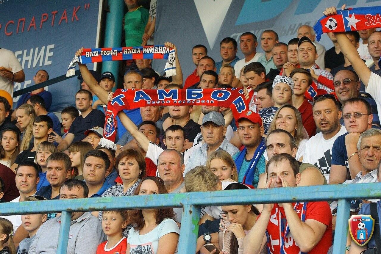 Тамбовчане сыграли вничью с ФК «Мордовия», фото-3