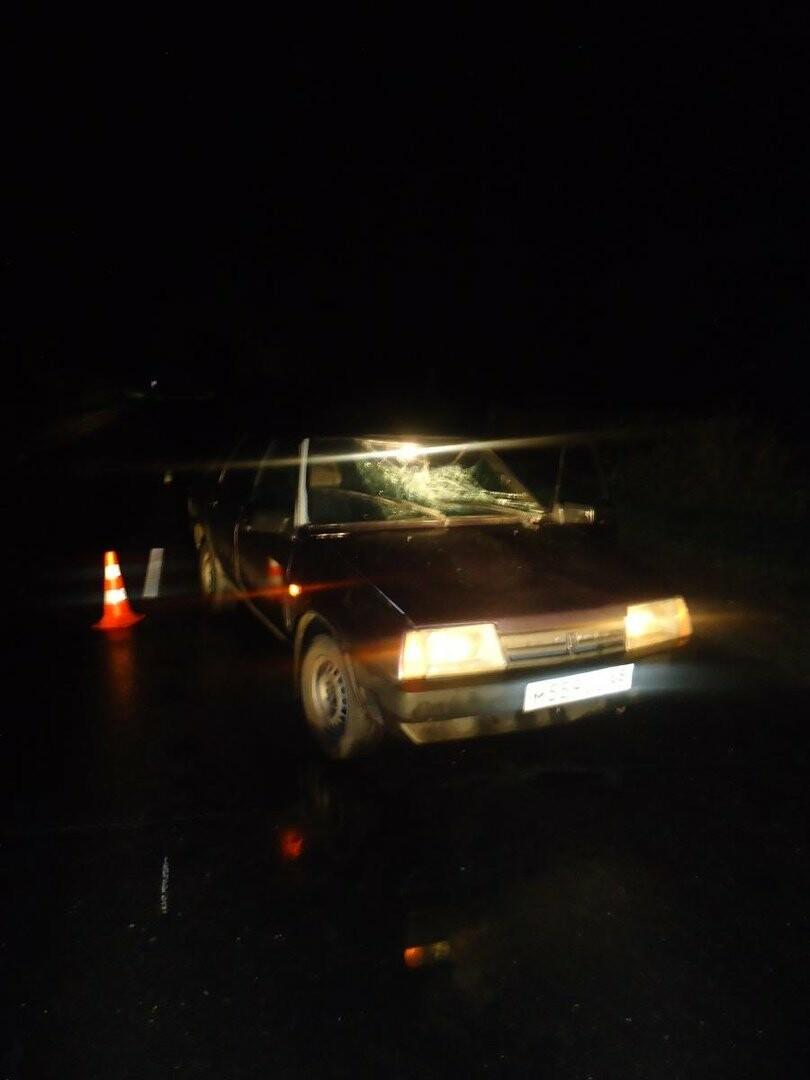 В Мичуринске ночью под машину попал пешеход, фото-1