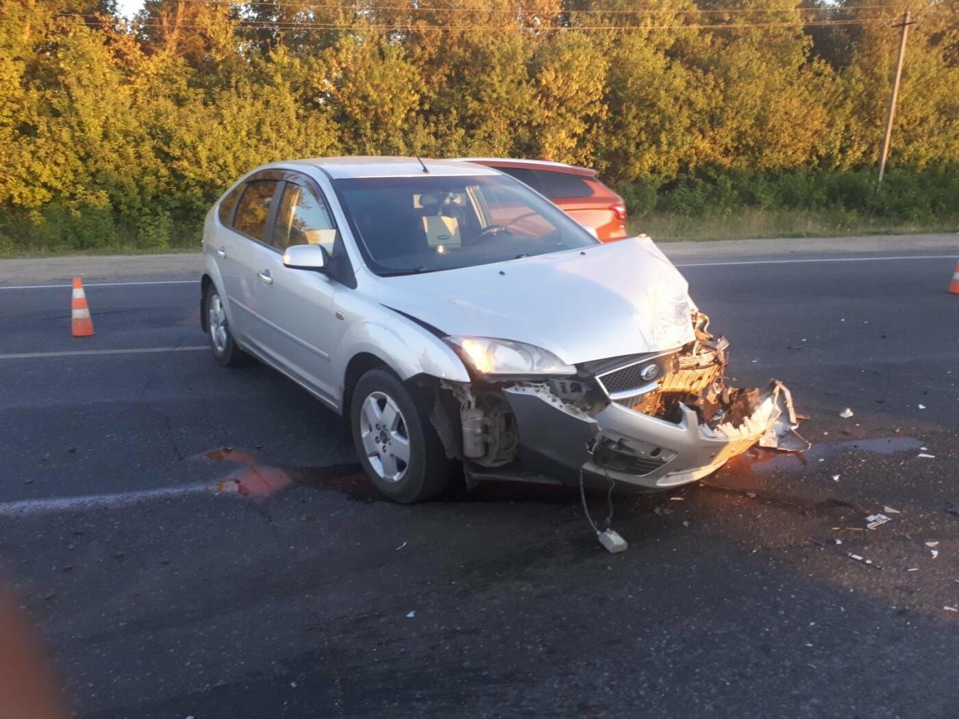 На Тамбовщине в аварии пострадала пассажирка автобуса, фото-1