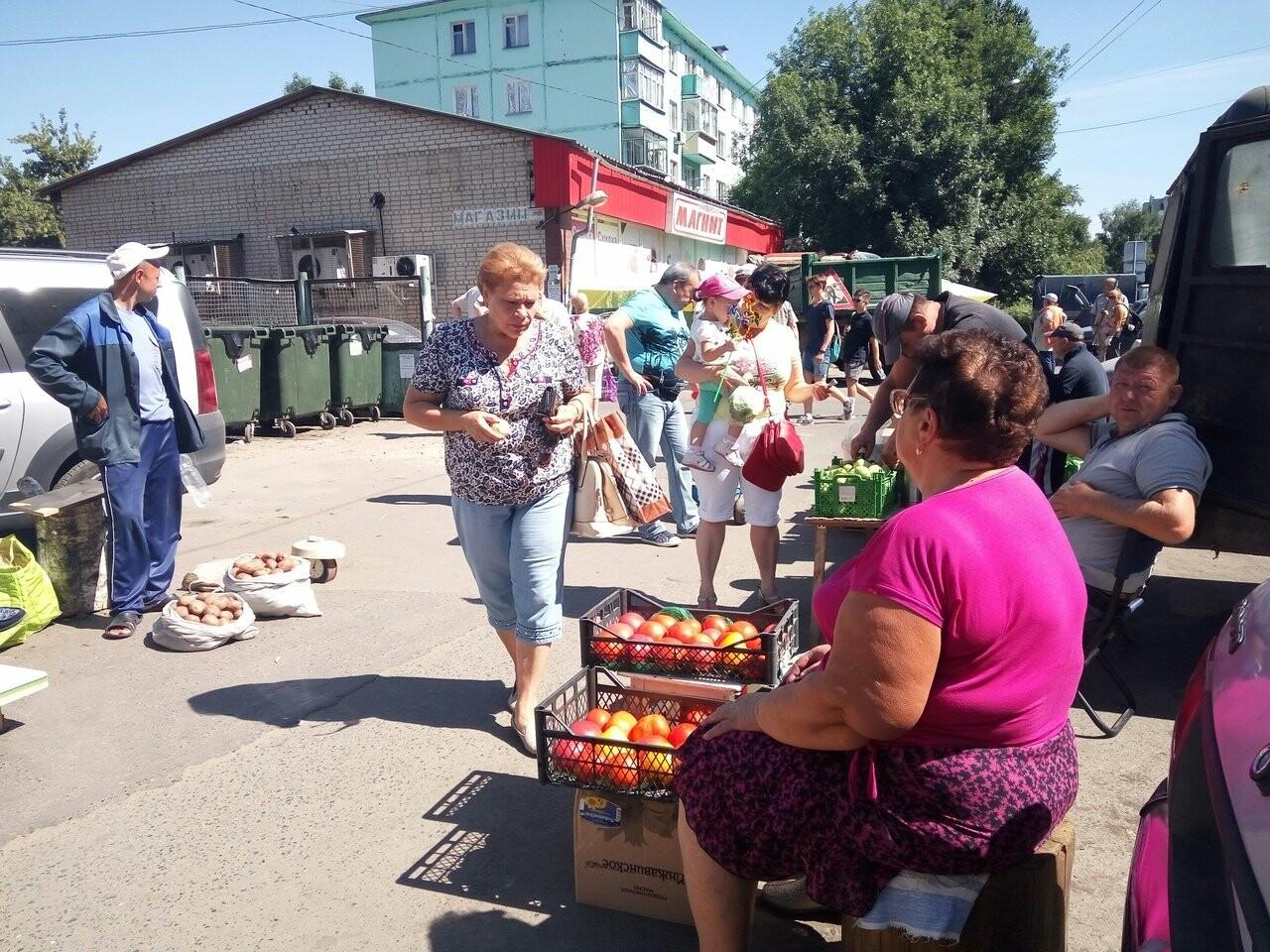 В Тамбове торговцев загнали за забор, фото-1