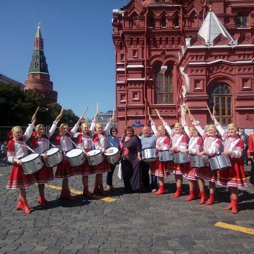 Уваровские кадеты отбарабанили на Красной площади, фото-1