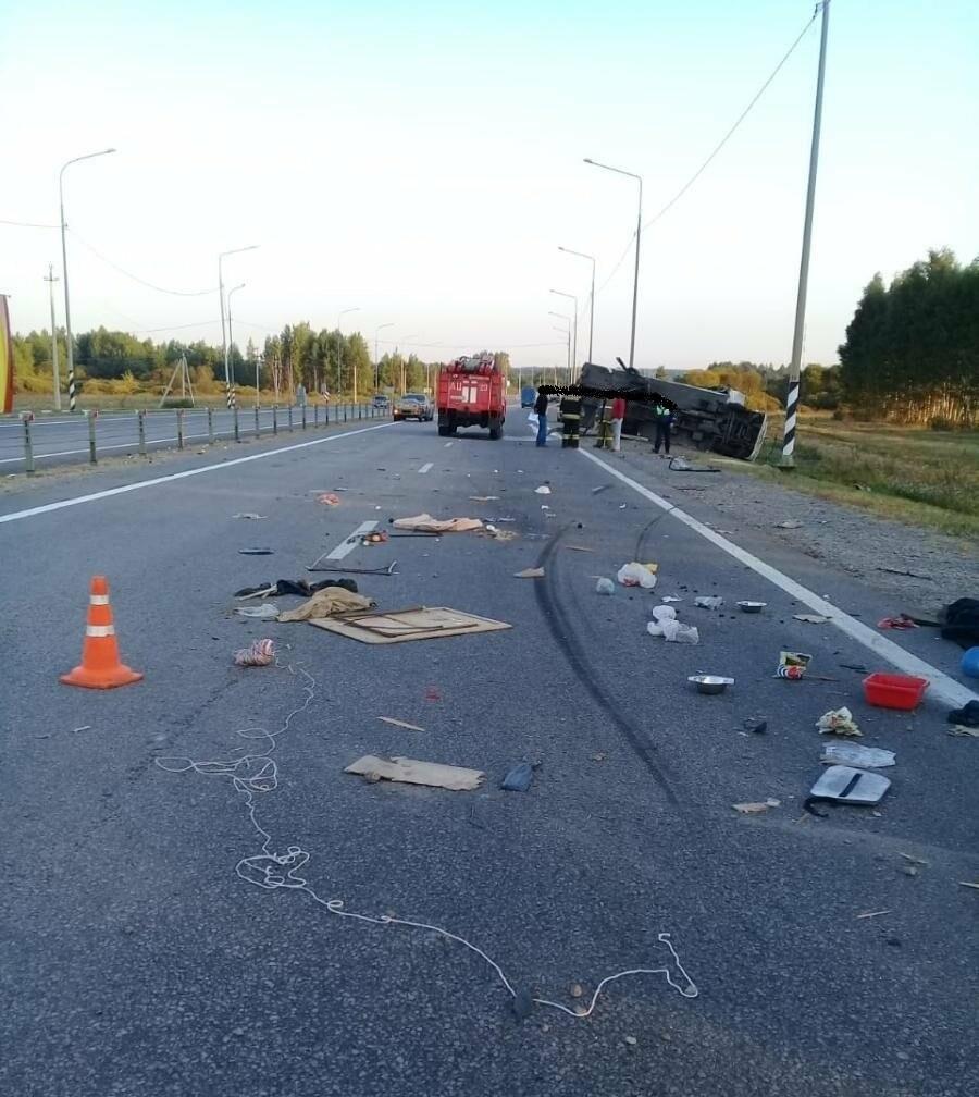 В Никифоровском районе насмерть разбился водитель грузовика, фото-1