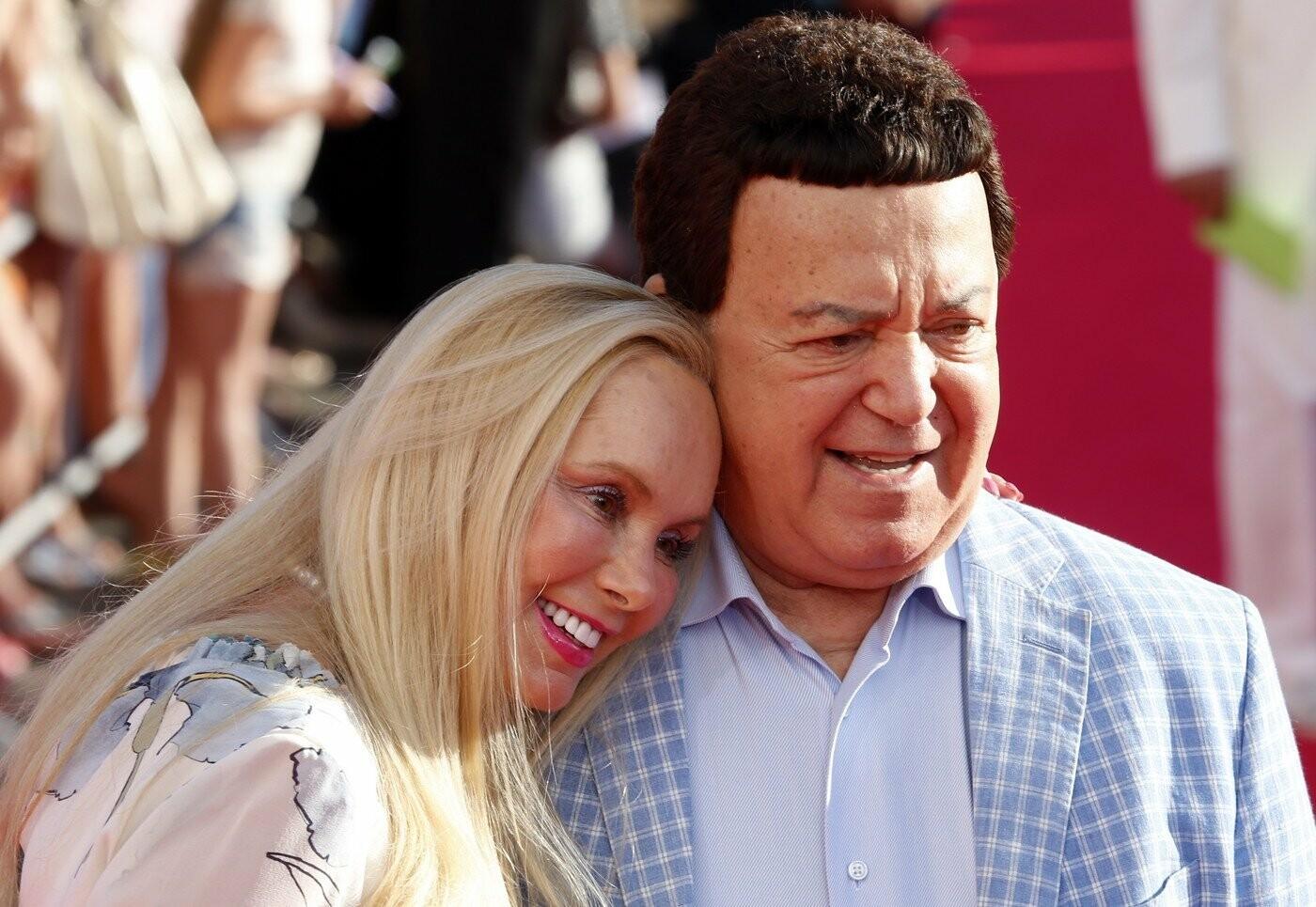Иосиф Кобзон с женой Нинель