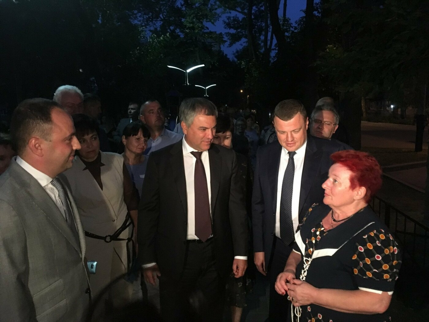 Председателю Госдумы показали «Олимпийский» парк, который тамбовчане «отбили» у застройщика, фото-1