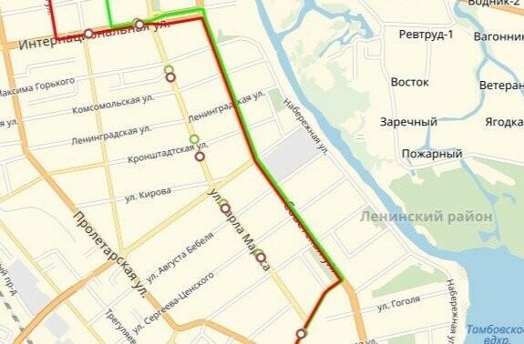 Автобус № 61 в Тамбове изменил маршрут, фото-1