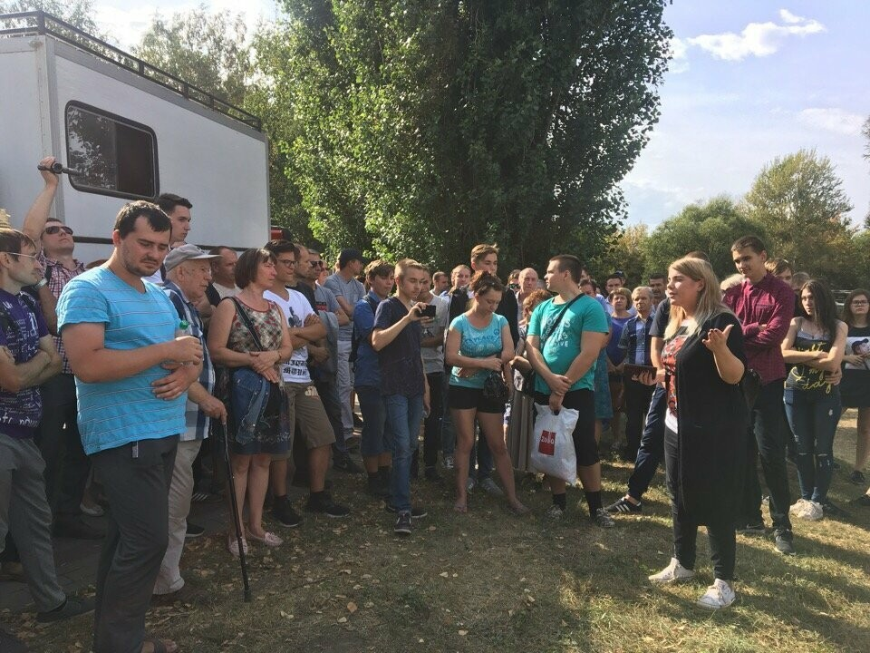 Тамбовские сторонники Навального провели митинг против пенсионной реформы, фото-2