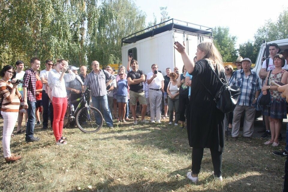 Тамбовские сторонники Навального провели митинг против пенсионной реформы, фото-1