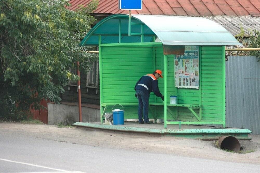 В Мичуринске на остановки потратили миллион рублей, фото-1