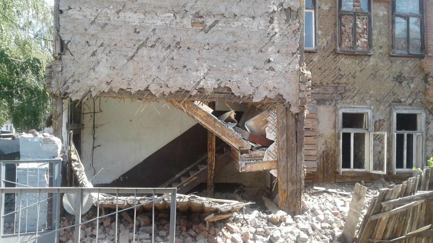 В центре Тамбова разваливается дом-памятник, фото-1