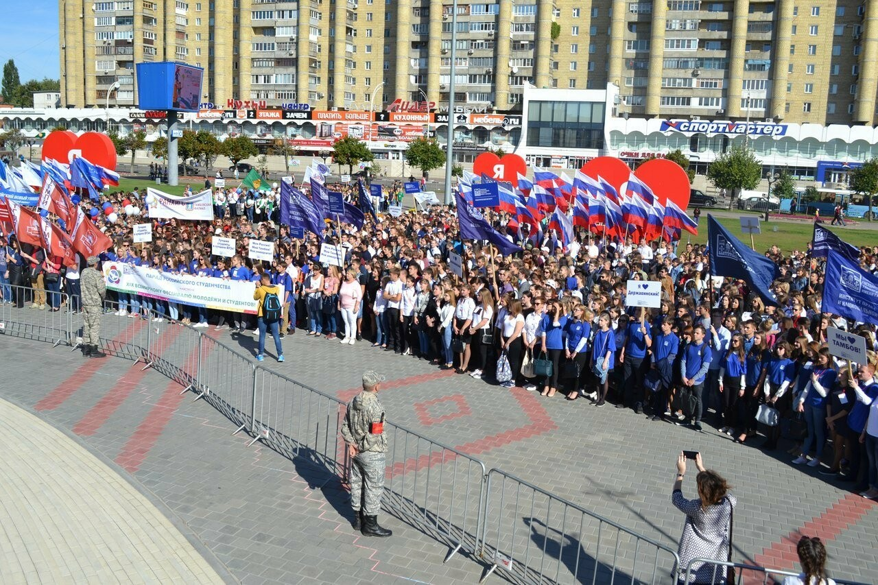 По центру Тамбова пройдут более 5 тысяч первокурсников , фото-2