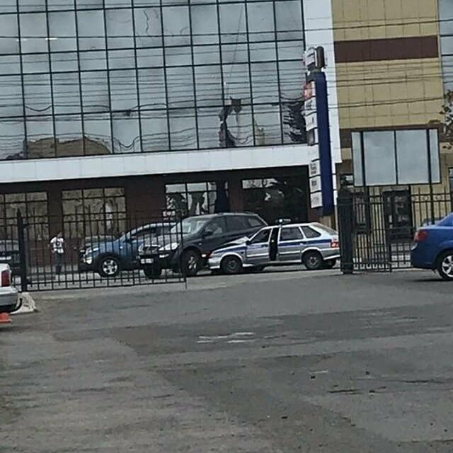 В Тамбове полицейская машина стала участницей ДТП, фото-1