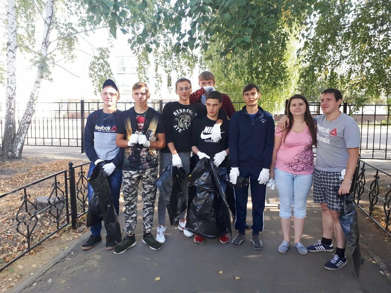 Тамбовщина отметила Всемирный день чистоты субботниками по всей области , фото-4