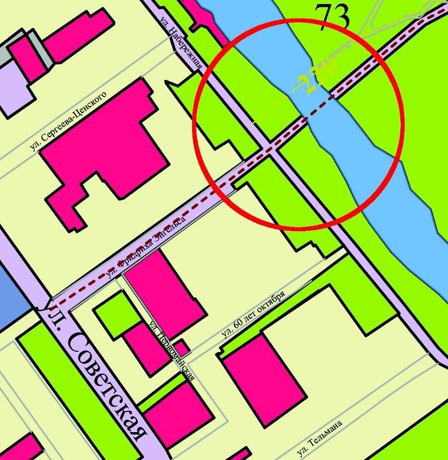 Через парк Дружбы в Тамбове хотят проложить автомагистраль, фото-1