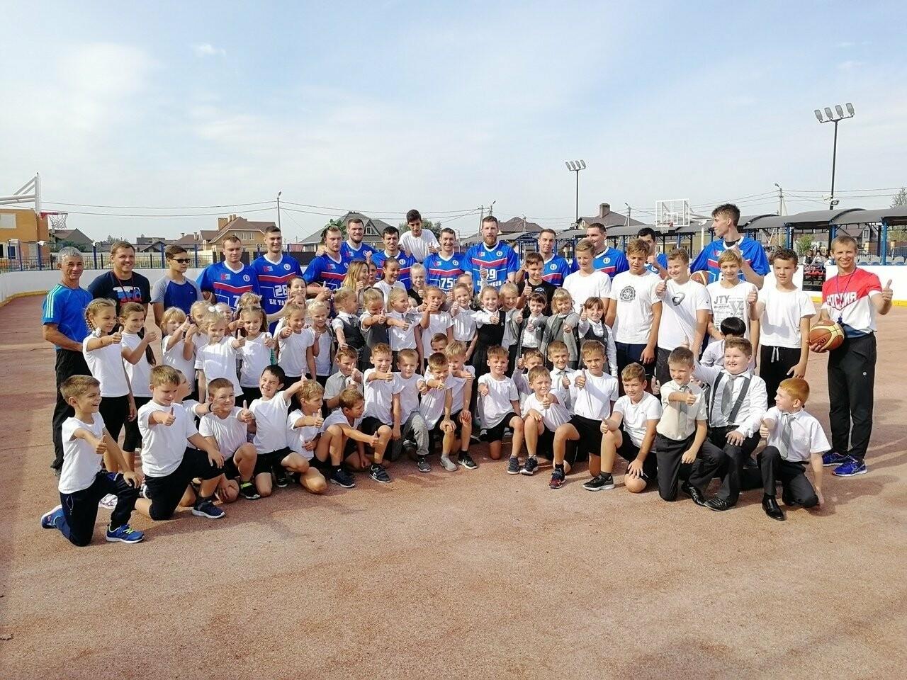 Чемпионы учат тамбовских школьников играть в баскетбол, фото-1