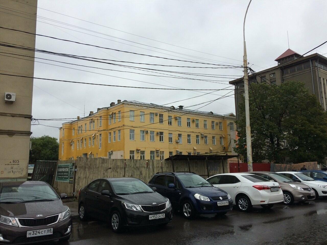 Тамбовчане предложили превратить пустырь в центре города в сквер, фото-1