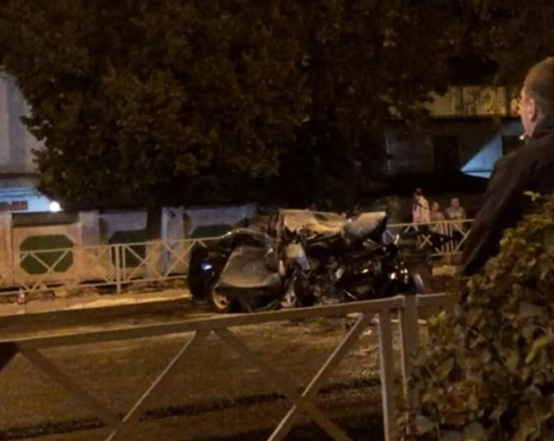 ДТП у тюрьмы в Тамбове: Lada Priora влетела к каток, четверо погибших, фото-4