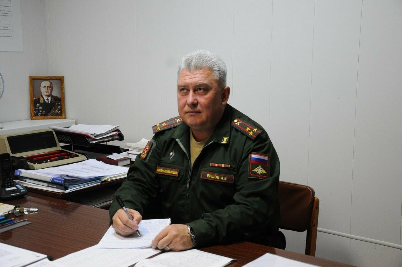 Военный комиссар города Тамбова Андрей Ершов