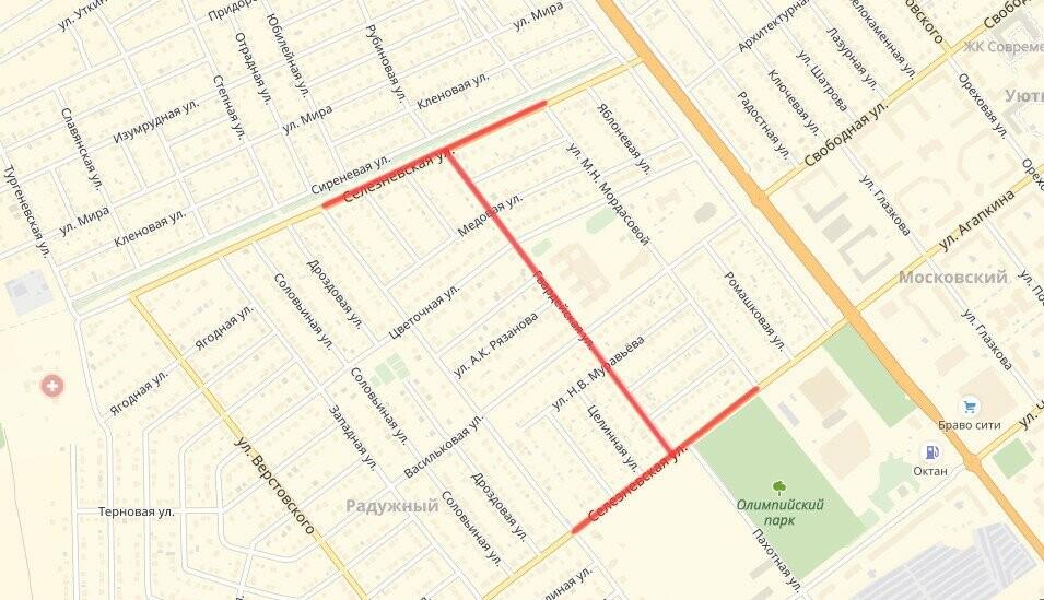 На севере Тамбова поменяли «главенство» улиц, фото-1