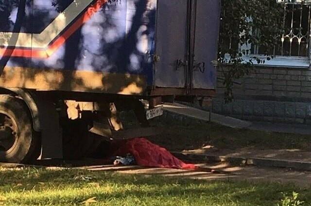 В Тамбове грузовик «Почты России» насмерть сбил пенсионерку, фото-1, Подслушано в Тамбове в Instagram