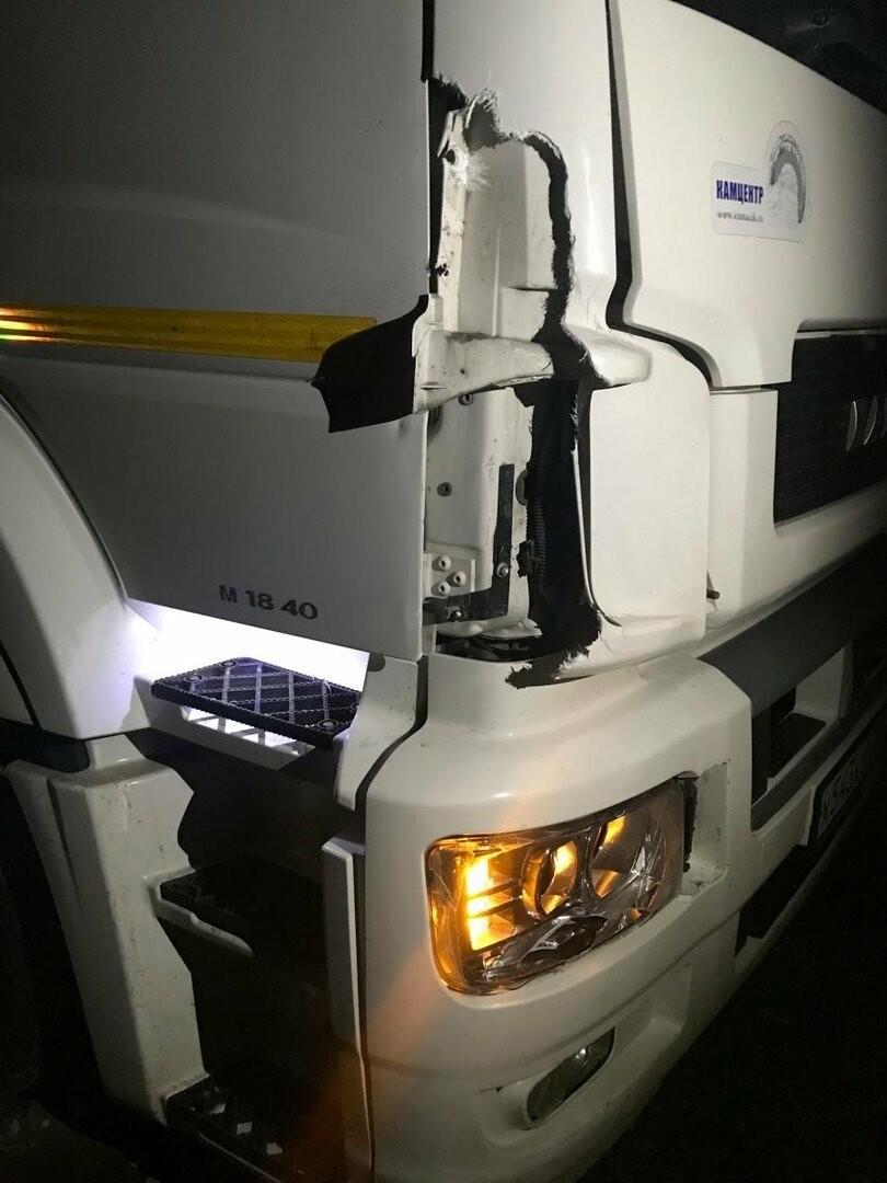 На тамбовской трассе грузовик сбил пешехода, фото-1
