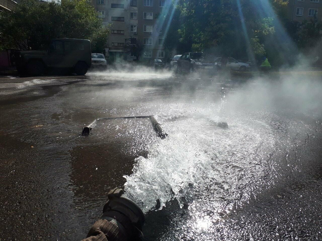 Более двух тысяч тамбовчан трое суток сидят без горячей воды, фото-1