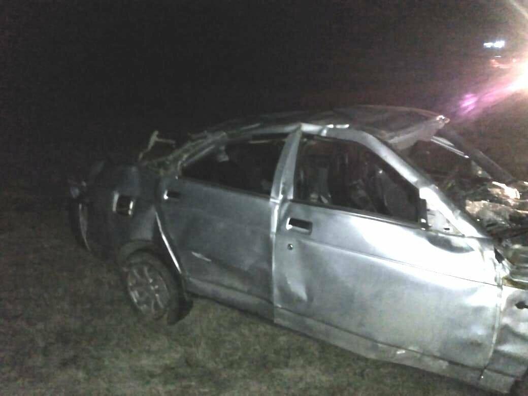 На Тамбовщине легковушка нырнула в кювет: водитель погиб, фото-1