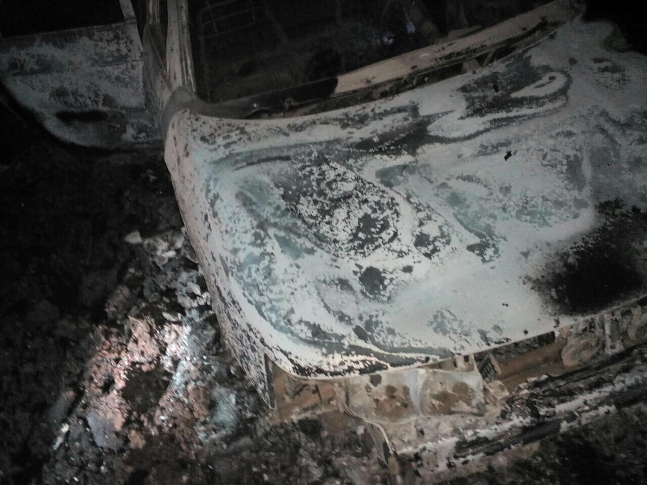 Тамбовчанин сгорел в собственном автомобиле, фото-1