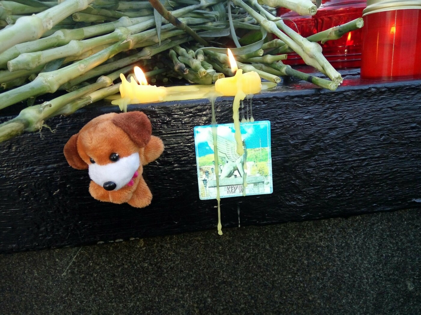 Тамбовчане несут цветы к памятной стеле города Керчь, фото-1