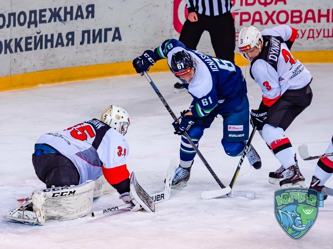 ХК «Тамбов» вновь проиграл на выезде, фото-6