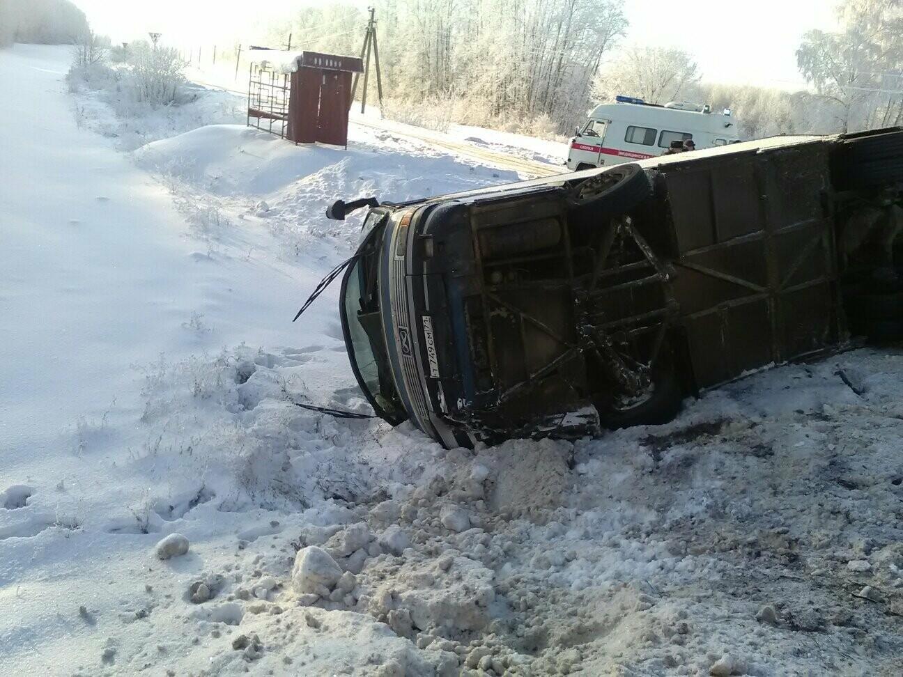 В Тамбовском районе перевернулся автобус с 12 пассажирами , фото-2