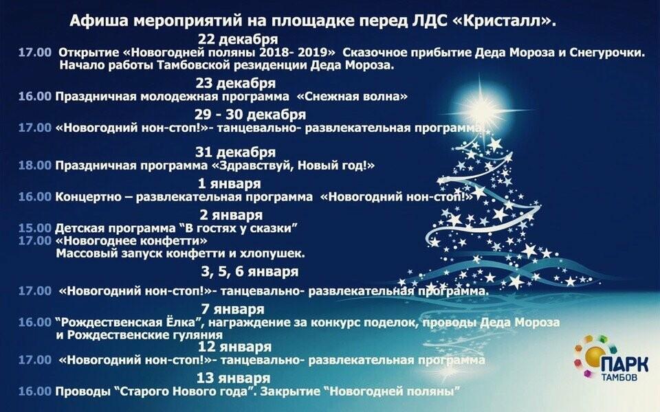 Новый 2019 год в Тамбове: программа праздников и событий на каждый день, фото-1