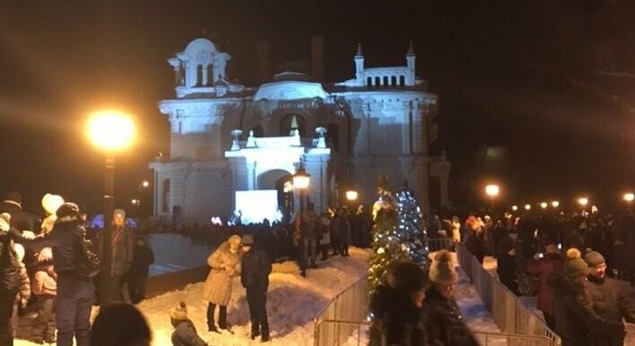 Центр Тамбова встал в пробках из-за новогодних гуляний , фото-1