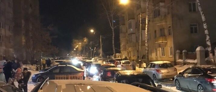 Центр Тамбова встал в пробках из-за новогодних гуляний , фото-2