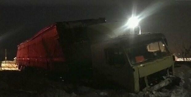 В Тамбовской области фура протаранила легковушку, водитель погиб на месте , фото-1
