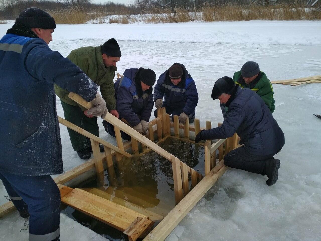 В Тамбове оборудовали места для крещенских купаний, фото-4